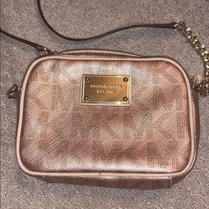 Michael Kors crossbody saffiano leather purse